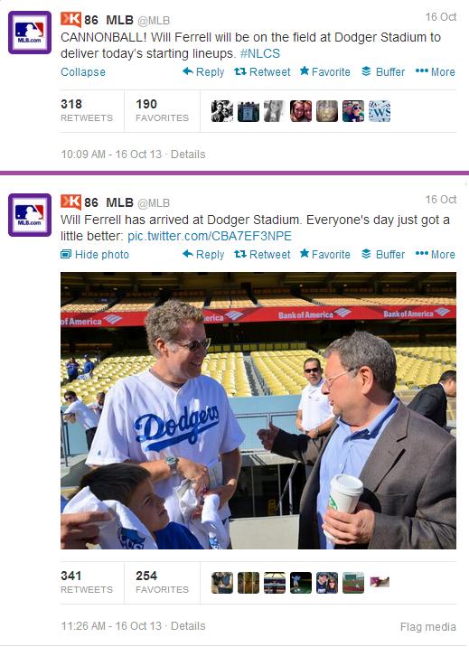Will Ferrell Dodgers