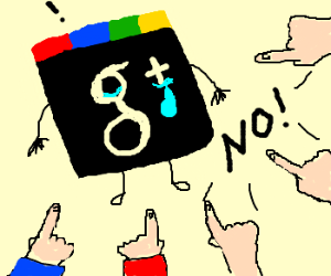 Google plus sucks