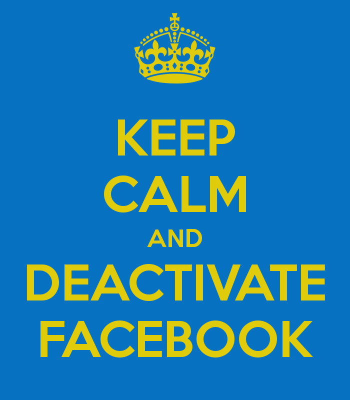 How To Deactivate Facebook Temporarily Amp Forever