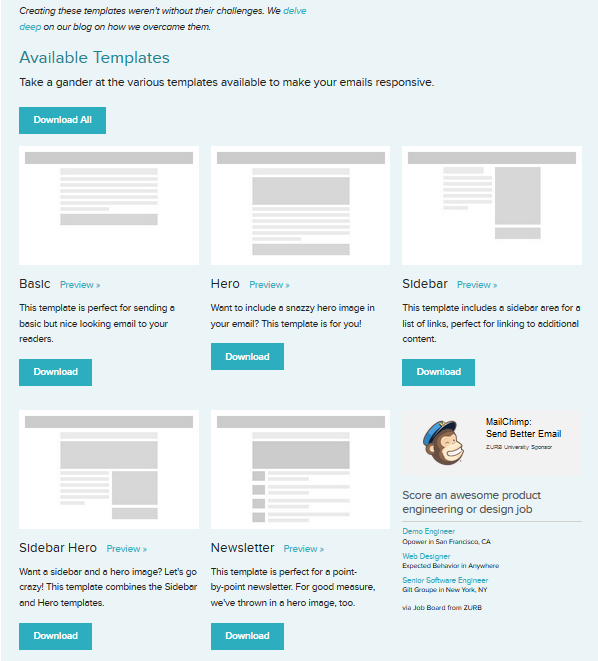 5 Best Free Email Marketing Templates Social Media Impact Social