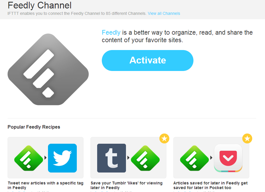 How to Automate Your Social Media Presence Feedly If This Then That