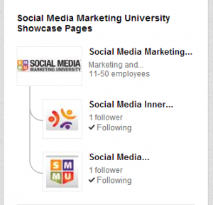 LinkedIn Love SMMU Showcase Pages