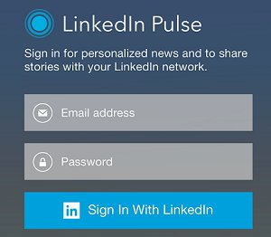 LinkedIn Pulse Content Curation
