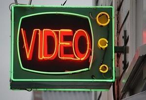 video neon sign